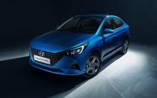 Появились официальные фотографии обновленного Hyundai Solaris