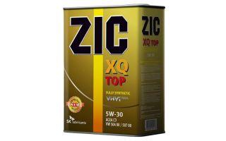 Всё о моторном масле ZIC 5w30
