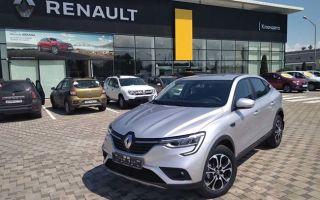 Renault передала волонтерскому движению кроссоверы Arkana