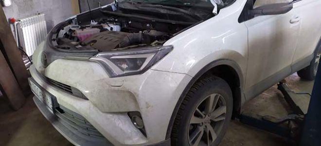 Замена масла и фильтра в Toyota RAV4 своими руками — подробная инструкция