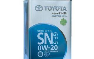 Моторные масла Toyota: характеристики и виды, как отличить подделку