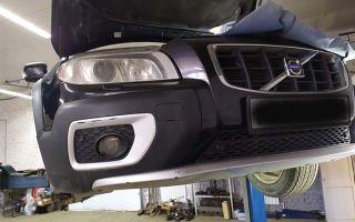 Как поменять моторное масло в Вольво XC 70: инструкция, фото, заправочные объемы