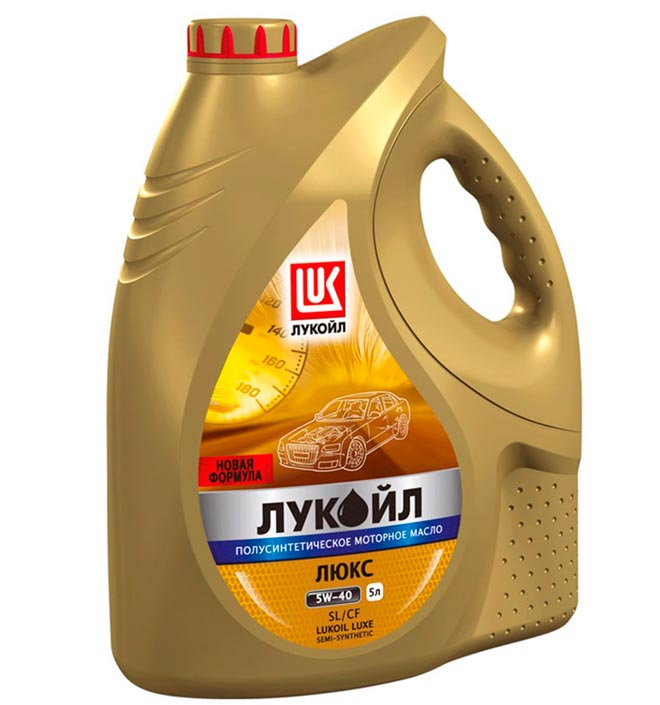 Полусинтетическое моторное масло Лукойл Люкс 10W-40