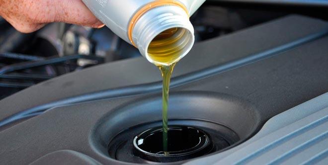 наливаем масло