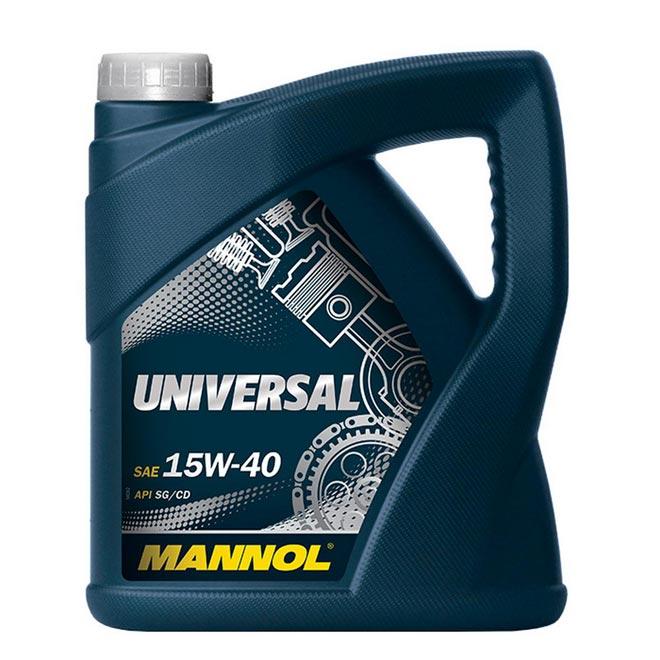 Минеральная смазка Mannol Universal 15W-40