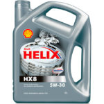 Моторное масло Shell Helix Hx8 synthetic 5W-30.
