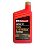 Motorcraft full synthetic 5W-30 S API SN.