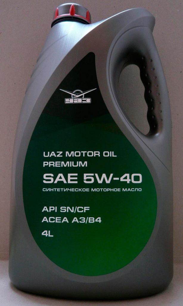 UAZ Motor Oil premium 5W-40
